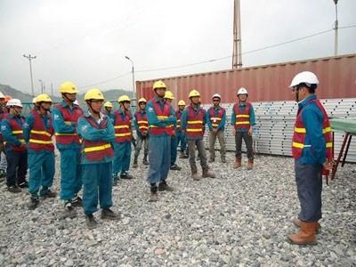 An toàn lao động khi ép cọc bê tông - Ép cọc Minh Trí