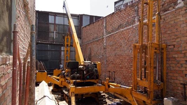 tính số lượng cọc ép bê tông nhà phố Đồng Nai